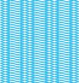 Weave pattern blue background vector image