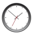 Wall mechanical clock vector image vector image