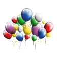 balloons background for you design vector image