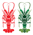 Lobster vector image