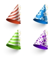 Birthday party funny hats photo booth vector image vector image