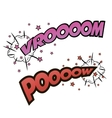 Comic sound effect vector image
