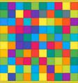 multi color mosaic tile square background vector image