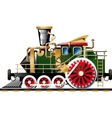 Steampunk Steam locomotive vector image vector image