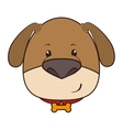 dog animal cartoon vector image