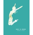 mysterious green garden jumping girl vector image