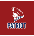 patriot design template vector image