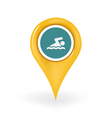 Swimming Location vector image