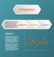 three steps infographic concept vector image