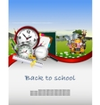 modern back to school background for you design vector image vector image
