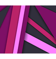Abstract background with layers vector image