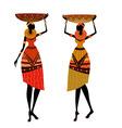 native african women vector image vector image