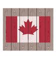 Canada flag vector image
