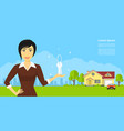real estate agency vector image vector image