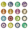 Plant Growing Icons vector image