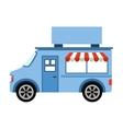 car fast food shop icon vector image