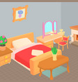 furniture concept cartoon style vector image