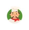 Italian Cook In Uniform vector image