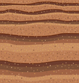 Sand seamless pattern 5 vector image