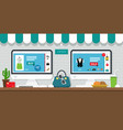 online sales vector image vector image