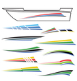 boat graphics vector image
