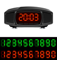 radio alarm clock vector image
