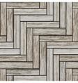 Grey wood parquet vector image vector image