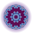 Mandala tribal design Ethnic ornament Template vector image