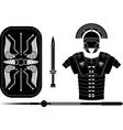 roman armor vector image