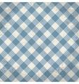 Grunge checkered background vector image