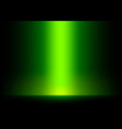 Green Light from Top Background vector image