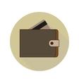 Icon Wallet vector image