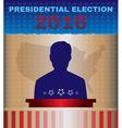 Usa 2016 Presidential Election Debates vector image