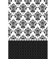 Black and white wallpaper vector image