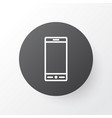 smartphone icon symbol premium quality isolated vector image vector image