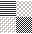 simple seamless moroccan pattern vector image