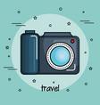 colorful camera design vector image
