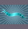 ribbon on grunge background vector image