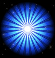blue light burst vector image