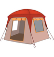 The big tent vector image