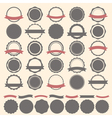 Set of vintage badges labels and logo template vector image vector image