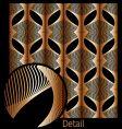 waveform patterns vector image vector image