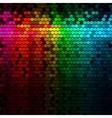 Multicolor Rainbow Abstract Lights Disco Digital vector image