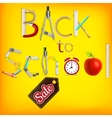 School marketing background EPS 10 vector image