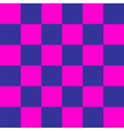 Cosmos Purple Blue Pink Chess Board Background vector image