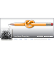 Pencil Scribble vector image vector image
