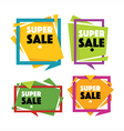sale templates vector image vector image