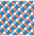 squares red blue cream colour vector image