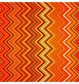 Abstract red orange white and black zig-zag vector image