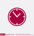clock watches icon vector image